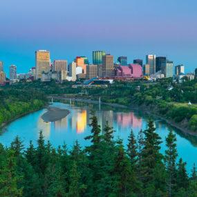 Edmonton in Alberta, Canada