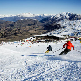 Coronet Peak Skiing in Queenstown
